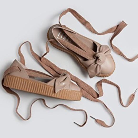 online retailer abaa0 034bf FENTY PUMA by Rihanna Bow Creeper Sandal Boutique